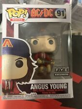 Funko Pop Rocks Ac Dc Angus Young # 91 F.Y.E. Fye Exclusive