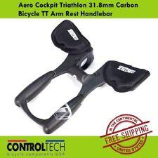 Controltech Aero Cockpit Triathlon 31.8mm Carbon Bicycle TT Arm Rest Handlebar