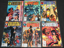 Modern Marvel Generation X #63-68 - 6pc Mid-High Grade Comic Lot Vf-Nm X-Men