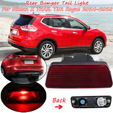 Rear Tail Bumper Center Reflector Light Fog Lamp For Nissan X-Trail T32 Rogue
