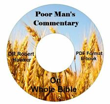 Poor Man's Bible Commentary CD eBook PDF-Kindle-iPhone-iPad-Droid-Tablet Cmptble