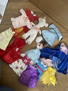 Angelina Ballerina soft / plush toy (2003) HIT + many clothing items