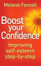 Boost Your Confidence: Improving Self-Esteem Step-By-Step (Overcoming)-ExLibrary
