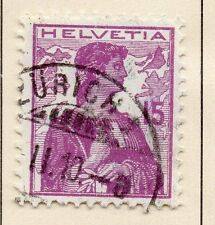 Switzerland 1909 Early Issue Fine Used 15r. 042859