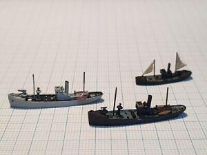Navis NM 84 VP 8 Patrol boat & Trawler N5 Germany WWI 1917  waterline 1/1250