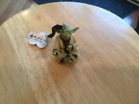 Disney Parks Yoda Figural Ornament New With Tag