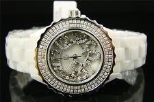 Womens/Ladies Techno Com Kc Ceramic Diamond Watch 1.5Ct