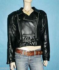 veste blouson de moto perfecto vintage en cuir souple taille 40 fr