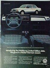 1983 Volkswagen Jetta Limited Edition Promo Car ad