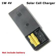 1W 4V Solar Cell Panel Charging Device 2*AA AAA Rechargeable Battery Charger o