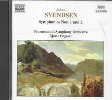 CD album: Johan Svendsen: Symphonies N°1 & 2. Bjarte Engeset. naxos. M