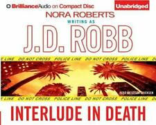 Interlude in Death by J. D. Robb (2006, Unabridged) 3 CDs
