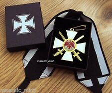 REPRO GERMAN ORDER OF RED EAGLE MEDAL **WITH SWORDS** / IMPERIAL