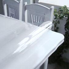 Film Trasparente PVC Pellicola Telo Copritavola Coperture 0,15 mm Metraggio