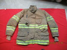 Lion Janesville 46 X 32r Firefighter Turnout Bunker Gear Jacket Coat Rescue Tow