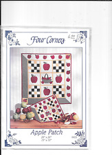 FOUR CORNERS WALL HANGING PATTERN BY APPLE PATCH.