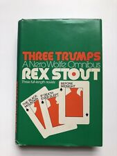 Rex Stout Three Trumps Nero Wolfe Omnibus 3 Full Length Novels