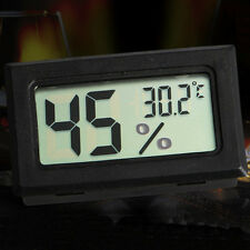 Mini Digital LCD Medidor de Humedad Temperatura Termómetro Higrómetro