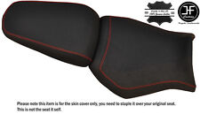 DESIGN 2 GRIP B RED ST CUSTOM FITS YAMAHA MT 03 06-14 FRONT + REAR SEAT COVER