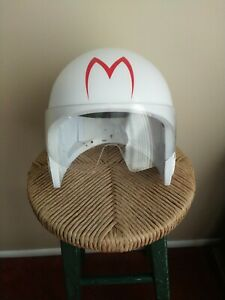 Speed Racer Mach 5 Toy Helmet with Push Button Voices & Sounds Effects Works