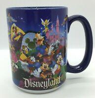 Disney Coffee Mug Mickey Mouse, Minnie, Donald Duck, Goofy, Pluto EUC