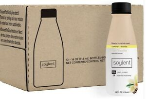 Soylent Cafe Vanilla Plant Protein Meal Replacement 14 Fl Oz (Pack of 12)