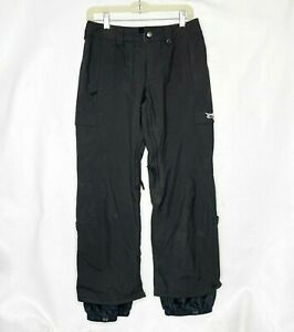 Burton Unisex Snowboard Pants XS Black Nylon Ski Winter