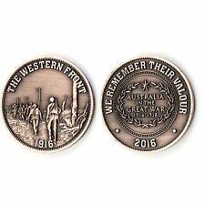 Australia on the Western Front 1916 Commemorative Penny