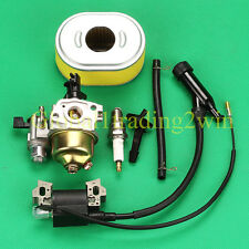 Carburetor Carby Igniton Coil For HONDA GX110 GX120 16100-ZH7-W51 4HP Engine