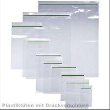 50x60mm Druckverschlussbeutel Plastik Beutel ZIP Beutel Tütchen Verschluss B3