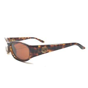 Gucci GG 2566/S 3K7 Sunglasses Glasses Frames Oval Rectangular Brown Tortoise