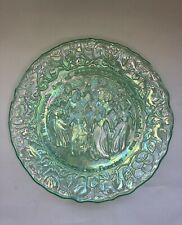 •EUC• Imperial Glass •11 Ladies Dancing• Ice Green Carnival Glass •1980•