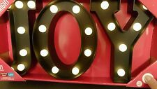 "Sign Lighted Marquee LED Sign Christmas 9"" (22.86 cm) Tall Black USA Seller CTSH"