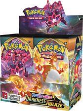 Pokemon TCG x4 Booster Packs Sword & Shield Darkness Ablaze 1/9 Booster Box S342