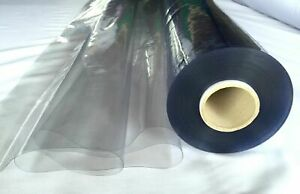 """Premium CLEAR PVC Plastic Protective screen PPE Vinyl Table Protector 54'""""wide"""