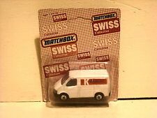 Matchbox Superfast Swiss Collection Ford Transit Van Kiosk AG No.60