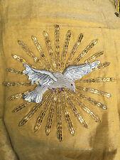 Linge Tissu Eglise  Liturgique Broderie Prêtre Ancien Voile  25