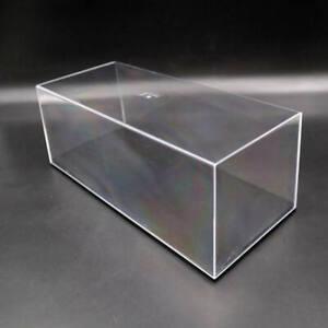 1:24 Acrylic Case Model Car Display Box Show Transparent Dust Proof 29cm Clear