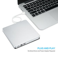 USB2.0 External DVD-RM Player Reader Combo CD-RW Burner Drive for PC Mac Laptop
