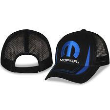 dae710e6cce2a Mopar Black Mesh Hat W  Blue Accents