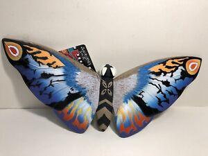 Godzilla Rainbow Mothra Authentic Japanese Kaiju Import Bandai Figure  Brand New