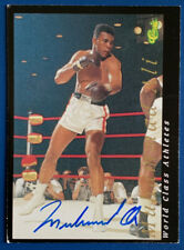 1992 Classic Boxing World Class Athletes Muhammad Ali Signed Auto Numbed READ