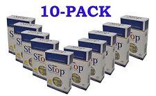 New & Improved Super Stop 8-hole Cigarette Holder 10-pack 300 Filters SHIPS FREE