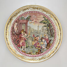 Antique 19th Century Capodimonte Porcelain Plaque - PC