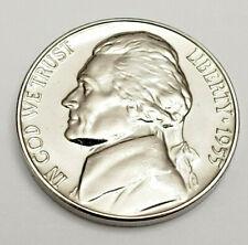 1955 P Jefferson *PROOF* Nickel  **FREE SHIPPING**