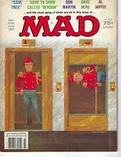 Mad magazine #216 July 1980 Fine cond Star Trek Benson Don Martin Dave Berg