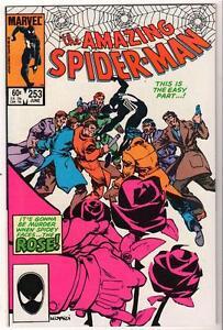 MARVEL Comics VFN+N/Mint 9.4 SPIDER-MAN Bronze age #253  AMAZING spiderman Rose