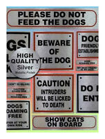 Pet Information Signs