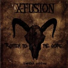X-FUSION Rotten To The Core LIMITED CD Digipack 2011