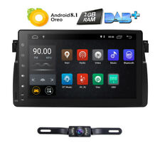 """For BMW E46 M3 Car GPS Navigation Radio Stereo 9"""" Android 8.1 Touch Screen CAM F"""